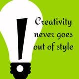 Creatieve stijl Royalty-vrije Stock Afbeeldingen