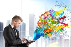 Creatieve technologie Royalty-vrije Stock Fotografie