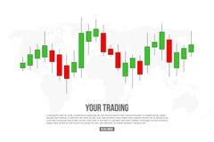 Creatieve vectordieillustratie van forex de signalen van het handeldiagram op achtergrond worden geïsoleerd Koop, verkoop indicat vector illustratie