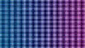 Creatieve vectorillustratie van geleide het scherm macrodietextuur op transparante achtergrond wordt geïsoleerd Rgb diode van het vector illustratie