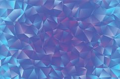 Creatieve veelhoekige abstracte achtergrond Het vector Art Royalty-vrije Stock Foto's