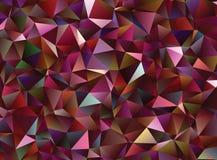 Creatieve veelhoekige abstracte achtergrond Het vector Art Stock Foto