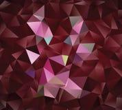 Creatieve veelhoekige abstracte achtergrond Het vector Art Stock Foto's