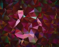 Creatieve veelhoekige abstracte achtergrond Het vector Art Stock Fotografie