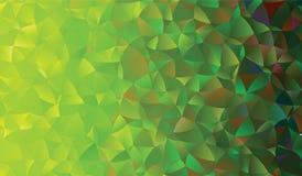 Creatieve veelhoekige abstracte achtergrond Het vector Art Royalty-vrije Stock Foto