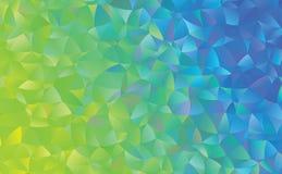 Creatieve veelhoekige abstracte achtergrond Het vector Art Royalty-vrije Stock Fotografie