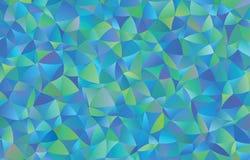 Creatieve veelhoekige abstracte achtergrond Het vector Art Stock Afbeelding