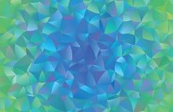 Creatieve veelhoekige abstracte achtergrond Het vector Art Royalty-vrije Stock Afbeelding