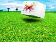 Creatieve Vlinder Royalty-vrije Stock Afbeeldingen