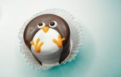 Creatieve voedselcakes voor kind grappige dierlijke vorm stock fotografie