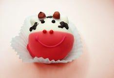 Creatieve voedselcakes voor kind grappige dierlijke vorm royalty-vrije stock afbeeldingen