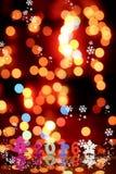Creatieve vrolijke Kerstmis Gelukkige Nieuwjaren van 2016 Royalty-vrije Stock Fotografie