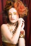 Creatieve vrouw Royalty-vrije Stock Afbeeldingen