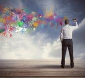 Creatieve zaken royalty-vrije stock foto