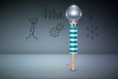 Creatieve zaken en Ideeconcept vector illustratie