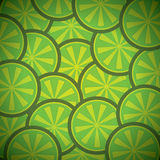 Creatigreen lemon pattern Stock Photography