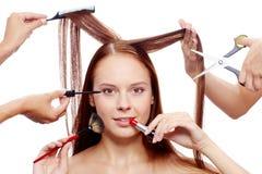 Creating beauty Stock Photo