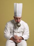 Creating chef. Royalty Free Stock Photography