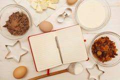 Creating a Recipe Royalty Free Stock Photos