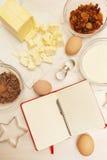 Creating a Recipe Royalty Free Stock Photo