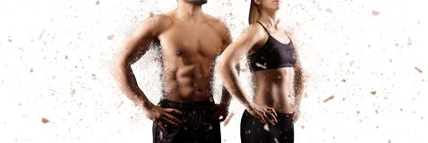 Free Creating The Perfect Male And Female Upper Body Concept Stock Photo - 124333600