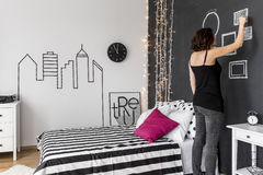 Creating your own room Stock Photo