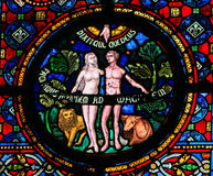 Creation of Adam and Eve Stock Photography