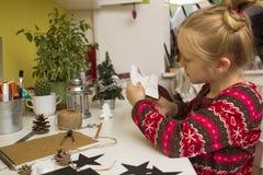 Creation Christmas decorations Stock Photo