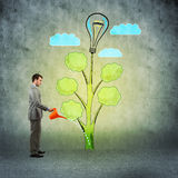 Creation of ideas Stock Photo