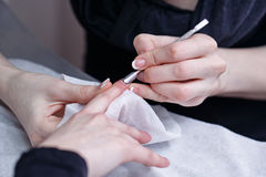 Creation manicure Royalty Free Stock Image
