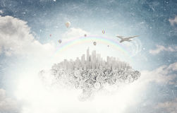 Creation mechanisms Royalty Free Stock Images