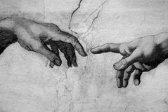 The Creation Michelangelo Italy Vatican - Creative Commons by gnuckx Stock Photos
