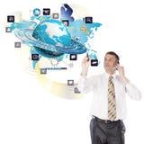 Creation new Internet technologies Stock Image