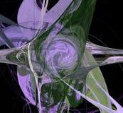 Creatiopn digital abstrato Saturn Fotos de Stock