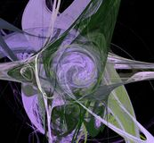 Creatiopn numérique abstrait Saturn photos stock