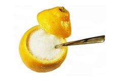 Creativ Sugar Lemon Royalty Free Stock Photography