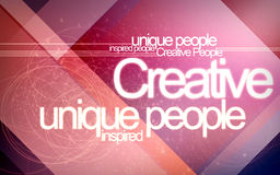 Creative. Design with lots of lines an colors stock illustration