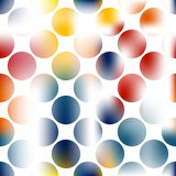 Creative abstract art circles background. Creative circles design. Vector abstract background gradient colors Royalty Free Stock Photo