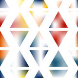 Creative abstract art triangles background. Creative triangles design. Vector abstract background gradient colors Stock Photography