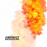 Creative abstract artistic background. Creative abstract artistic background with color splash stock illustration