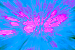 Creative abstract background reminding of a burst. Creative abstract artistic background reminding of a burst full of dynamics and colour Stock Image