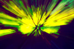 Creative abstract background reminding of a burst. Creative abstract artistic background reminding of a burst full of dynamics and colour Stock Photography