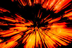 Creative abstract background reminding of a burst. Creative abstract artistic background reminding of a burst full of dynamics and colour Stock Images
