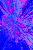Creative abstract background reminding of a burst. Creative abstract artistic background reminding of a burst full of dynamics and colour royalty free stock image