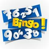 Creative Abstract Bingo symbol Stock Images