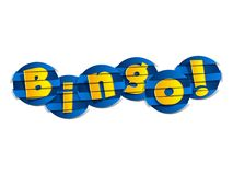 Creative Abstract Bingo Royalty Free Stock Photography