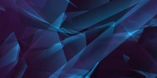 Blue geometric background vector illustration