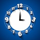 Creative abstract clock Royalty Free Stock Photo