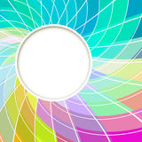Creative abstract digital light flower Stock Photos