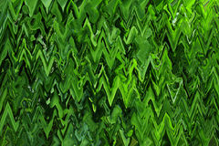 Creative abstract green texture with strips Royalty Free Stock Photography